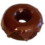 gourmet chocolate donut
